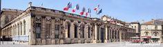 Façade du Palais Rohan - Hotel de Ville Bordeaux