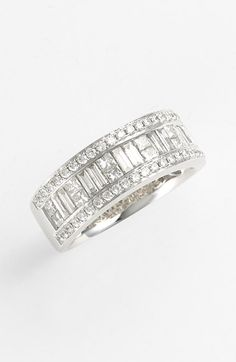 Women's Bony Levy Baguette Diamond Ring (Nordstrom Exclusive)