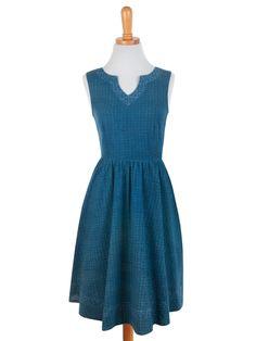 Art Fair Dress Blue
