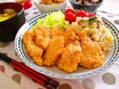胸肉で安い美味い!甘酢チキンお弁当にも♡の画像