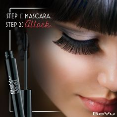 Bat your #lashes. Launch an attack. It's easy as pie every time you go with this lengthening #mascara that endlessly multiplies and gives you seductively long fan-like lashes that go a long way!  #makeup #instamakeup #wakeupandmakeup #makeuplover #makeupforever #ilovemakeup #cosmetics #beauty #instabeauty #naturalbeauty #fashion #fashionista #beautycare #instafashion #fashionable #fashiondiaries #streetfashion #fashionstyle #matte #nail #nailart #beauty