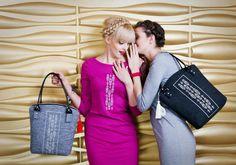 Dresses : Farbotka / bags: Farbotka model: Agata Sokołowska i Magdalena Bytys
