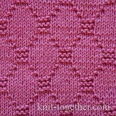 Diamond Stitch Pattern 2