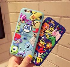 3D cartoon toy story phone case cell phone cases for iphone7 iphone 7 6 6s plus new TPU silicone Protective cover case rubber defender case GSZ202