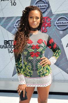 Eva Marcille at the 2016 BET Awards