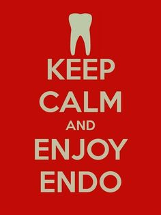 Keep Calm and Enjoy Endo