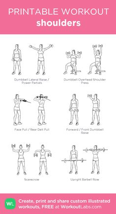 101 best printable workouts images  printable workouts