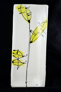 sushi plate handmade rectangular platter by ABowlofGratitude, $30.00