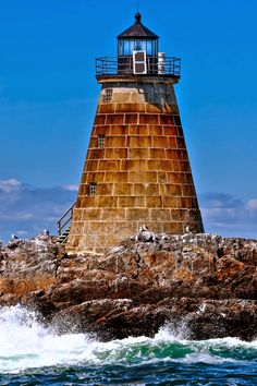 Saddleback Ledge Lighthouse.