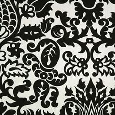 Amsterdam Black/White By Premier Prints - Drapery Fabric