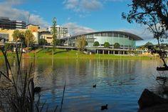 Adelaide, nestled on the River Torrens