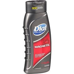 Dial For Men Attraction Enhancing Body Wash Magnetic, 16.0 FL OZ, Multicolor