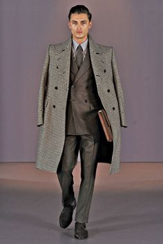 Gieves & Hawkes | Fall 2014 Menswear Collection | Harvey Newton Haydon | Business Style