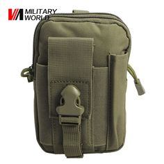 Military Wrold Outdoor Tactical Molle Bag For IPhone 7 Case Waterproof Sport Waist Pouch Nylon Utility Pouch Multifunctional Bag