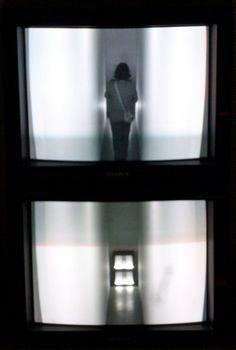 Bruce Nauman, Live Taped Video Corridor, 1970
