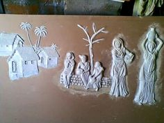M Seal Art Arts And Crafts Pinterest Clay Clay Art