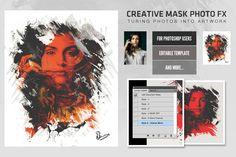 Creative Mask Photo FX by Sherman Jackson on Creative Market