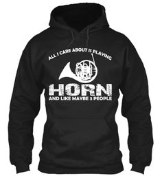 Limited Edition: PLAYING HORN | Teespring