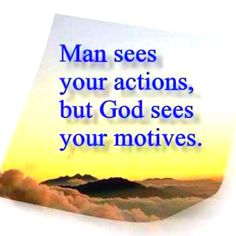 motives can't be hidden