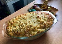 Mascarpones-sonkás-sajtos tészta csőben sütve | Mona Teiszler receptje - Cookpad receptek Penne, Feta, Risotto, Macaroni And Cheese, Ale, Oatmeal, Breakfast, Ethnic Recipes, The Oatmeal