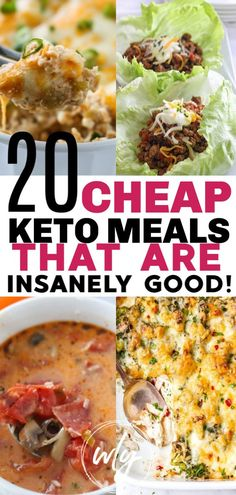 20 cheap keto meals when you want to do keto on a budget. These easy keto dinners are perfect keto diet for beginners ideas and can even be your ketogenic diet meal plan for dinner. diet for beginners meal plan 20 Cheap Keto Meals Ketogenic Diet Meal Plan, Ketogenic Diet For Beginners, Diet Meal Plans, Ketogenic Recipes, Diet Recipes, Healthy Recipes, Dessert Recipes, Healthy Fats, Keto Diet Meals