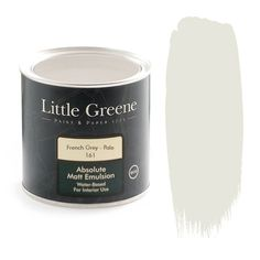 Slaked Lime is a wonderful off-white tone to create a warm atmosphere. Available at Little Greene from Go Wallpaper UK