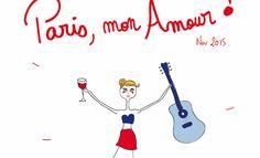 L'Agenda d'Agathe @AgatheGazouille  Paris, mon amour !!!!... C'est assez clair?  #paris #AttentatsParis #parisjetaime http://lagenda-dagathe.blogspot.fr