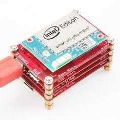 Guia da SparkFun de como usar os Blocks com o Intel Edison.