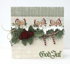 A christmas card by Johanna,  featuring the Christmas in Norway collection