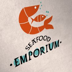 This logo definitely has me craving seafood! Yum! Custom logo design by Fandango Media Group http://www.fandangomediagroup.com #restaurantdesign #customlogo #responsive