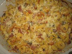 Όρεξη να 'χεις .../Oreksi na 'xeis: Tortellini a la creme στο φούρνο Cookbook Recipes, Cooking Recipes, Tortellini, Creme, Macaroni And Cheese, Pasta, Meals, Ethnic Recipes, Food