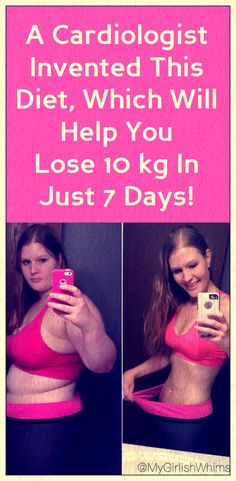 A cardiologist invented this diet, which will help you lose 10 kg in just 7 days!