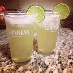 Skinnygirl Beer Ritas!   Skinnygirl Margaritas [thank you, Bethenny!] + Bud Light Lime + fresh squeezed lime juice =   a St. Paddy's Day drink to be remembered!