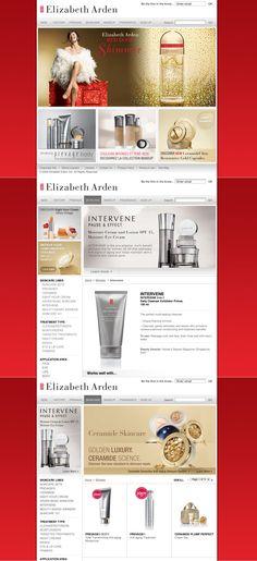 Elizabeth Arden Website  2008