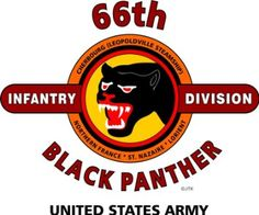 """Amazon.com: 66TH INFANTRY DIVISION """" BLACK PANTHER """" U.S. MILITARY CAMPAIGNS LAMINATED PRINT ON 18"""" x 24"""" QUARTER INCH THICK POSTER BOARD: Everything Else"""