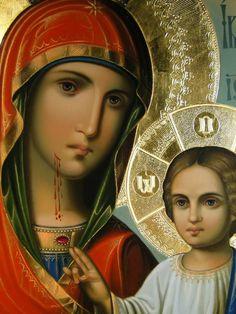 Religious Icons, Religious Art, Madonna, Blessed Mother Mary, Orthodox Christianity, Catholic Art, Art Icon, Orthodox Icons, Christmas Images
