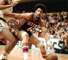 Julius Winfield Erving II, nicknamed Dr. J. (Bio) He was the dominant player of his era, an innovator who changed the way the game was played. He was a wizard with the ball, performing feats never before seen: midair spins and whirls punctuated by powerful slam dunks.