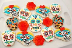 Don't have any Dia de los Muertos celebrations planned for today? Get festive at these beautiful weddings instead!