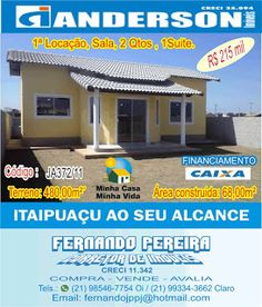 Itaipuaçu ao Seu Alcance: JA372/11_Itaipuaçu, 2 Qtos, 1 suíte, terreno Intei...