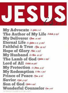 Jesus is. - Ladies Bible Study in Women's Ministry. Lord And Savior, God Jesus, Jesus Christ, Christ Cross, Worship Jesus, Christian Faith, Christian Quotes, Bible Scriptures, Bible Quotes