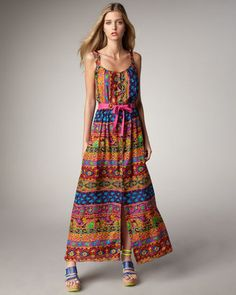 ShopStyle: Nanette LeporeMayan Printed Maxi Dress