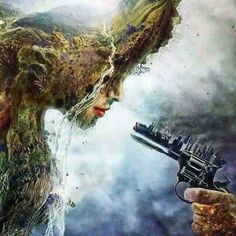 The Earth threatened by Us