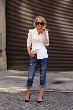{How To Wear} Boyfriend Jeans