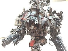 Warhammer 40K Ork Looted Imperial Knight C Mega Dread Stompa