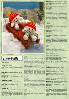 Snowtime Friends 8 Knitted Doll Patterns, Christmas Knitting Patterns, Knitted Dolls, Knitting Patterns Free, Beginner Knitting Projects, Knitting For Beginners, Crochet Projects, Knitting For Charity, Knitted Flowers