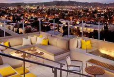 Rooftop hangouts in LA. One near Wilshire.