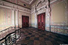 Nouveau Palais Michel - 18 Quai du Palais - Saint Petersbourg - Construit de 1857 à 1861 par l'architecte Andrey Ivanovich Stackenschneider pour le Grand Duc Michel Nikolaïevitch, fils de Nicolas Ier - Intérieurs.