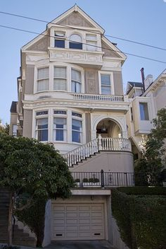 Houses of San Francisco The house, featured in the television show, Party of Five, is just down the street from the Mrs. Doubtfire house, at 2311 Broadway.Five pillars Five Pillars or five pillars may refer to: San Francisco Girls, Living In San Francisco, Victorian Architecture, Architecture Details, Welcome To My House, House Deck, Second Empire, Amazing Buildings, Inspired Homes