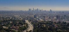 https://flic.kr/p/BbWEdD   Los Angeles - skyline-pano from the Hollywood Bowl Overlook   Please don't use this image on websites, blogs or other media without my explicit permission. © All rights reserved  Visit my website: toonvde.werkaandemuur.nl