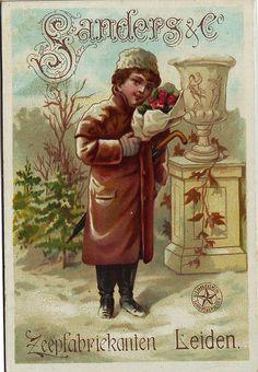 Victorian trade card.